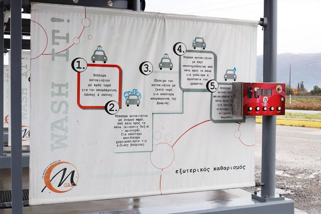 Με 5 προγράμματα λειτουργίας μπορείτε μόνοι σας να πλύνετε το αυτοκίνητό σας εύκολα και οικονομικά